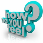 How Do You Feel Question 3d Words